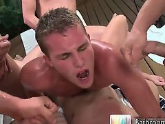 Alex andrews in nasty gangbang part3
