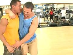 Two gays have nice sex
