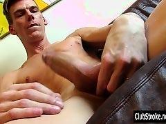 Sexy Straight Finn Masturbating His Dick