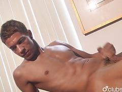 Asian Straight Guy Shawn Masturbating