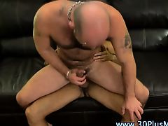 Watch hairy hot gays blow their loads