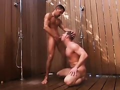 guys fucking in the shower