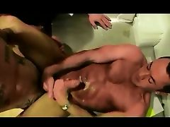 guy gets fucked good and cums good