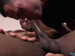 Big dick black gay foot and cumshot