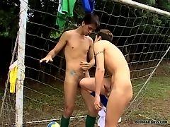 Footballer Bareback Boys! - Alan Melo And Bruno Stigmata - BestBareback