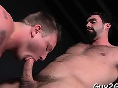 Horny gay pair delights with blowjob and anal sex large time