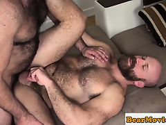 Hairy wolf assfucking bearded hunk