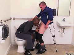 Free gay porn at urinal The HR meeting