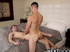 Hot sexy hunks Dylan Knight and Luca Rosso doggystyle time