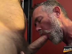Mature bears bareback