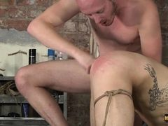 Using Both His Wet Holes - Tristan Crown  Sean Taylor - Boynapped