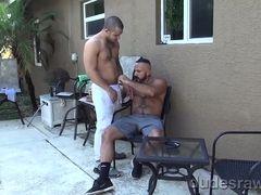 Mario Cruz Barebacks Daddy Alessio Romero - DudesRaw