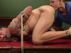 Two Gay Friends Fulfilled Alex Mecum's Anal Cravings