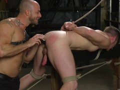 Two Hot Muscular Gays In Hardcore Bdsm Session