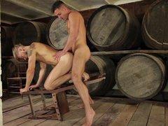 Hard Penetration In The Vine Cellar