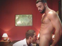 Gay Getaway In The Hotel Room
