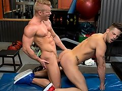 Johnny V & Roman Todd in Cross Fuck, Scene #01 - HotHouse