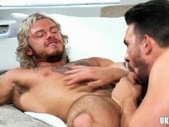 Big dick gay anal sex with cum in mouth