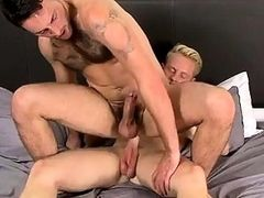 Hot gay He gets his dream with Andro who plows the spunk out of our