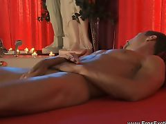 Erotic gay self massage that