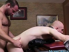 Tied up mormon raw fucked