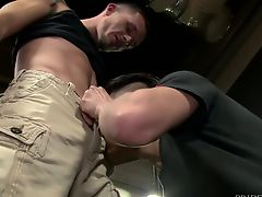ExtraBigDicks Public Warehouse Ass Fuck