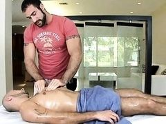 Orallservice from homosexual masseur