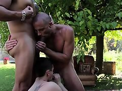 Latin gay foot fetish with facial