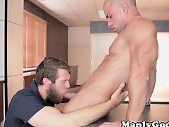 Muscular Antonio Aguilera nails Colby Keller