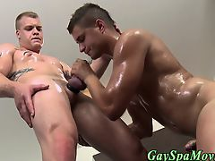 Straight dude sucks cock