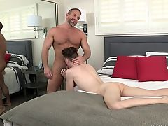 DylanLucas Twink Seduces not daddy Dirk Caber