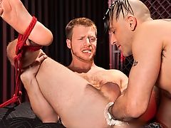 Tony Buff & Brian Bonds in Barefoot & Fisted - ClubInfernoDungeon