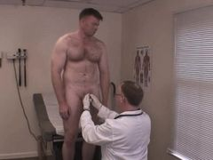 Medical exam - daddy anal exam