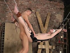 BDSM boys dominated bound fucked cute twinks