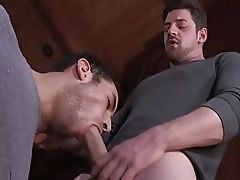 Dirty butt munchers have wild interracial anal fuck session