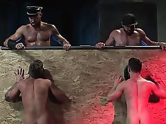 RagingStallion Suck That Dick & Spit On It Thru Glory Hole
