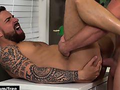 Bromo - Pierce Paris with Teo Carter at Cock