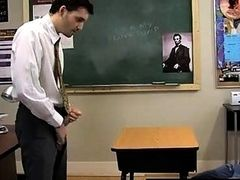 Hot twink The young guy is kinky for a superb grade. His teacher is