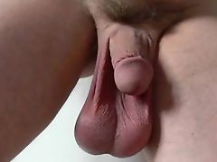Slides of Big Balls & Cock