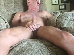 Old gay masturbating again