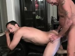 Naugthy daddy fucks cute guy