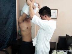 Kinky Asian Twink Doctors Bareback Fuck - DoctorTwink