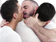 gay threesome with two mormon boys