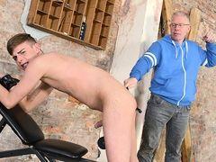 The Master Gets Back To Spanking! - Cameron James And Sebastian Kane - Boynapped