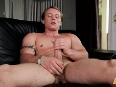 fit stud does his own work by hand