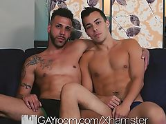 GayRoom - FX Rios Goes Deep In David Plazas Ass