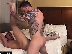 Bromo - Jake Ashton with Jordan Levine at Bro